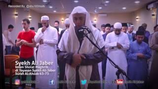 Video Subhanallah Suara Syekh Ali Jaber merdu sekali - Sholat Maghrib berjamaah di Yayasan Syekh Ali Jaber MP3, 3GP, MP4, WEBM, AVI, FLV Januari 2018