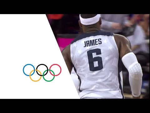 Basketball - The USA take on Australia in the quarterfinal of the men's basketball tournament at the London 2012 Olympic Games. This clip features a full reply of the gam...