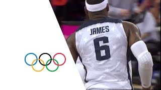 Video USA v AUS - Men's Basketball Quarterfinal | London 2012 Olympics MP3, 3GP, MP4, WEBM, AVI, FLV Agustus 2019