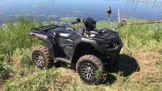 8. 2019 Suzuki KingQuad 750 AXi SE Walk Around & First Impressions
