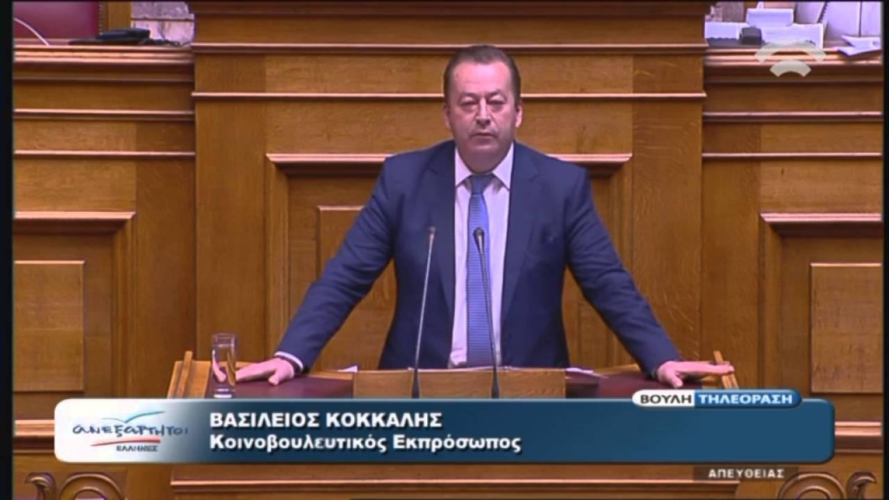 Β.Κόκκαλης(Κοινοβουλευτικός Εκπρόσωπος ΑΝΕΛ)(Μεταρρύθμιση Ασφαλιστικού-Συνταξιοδοτικού)(08/05/2016)