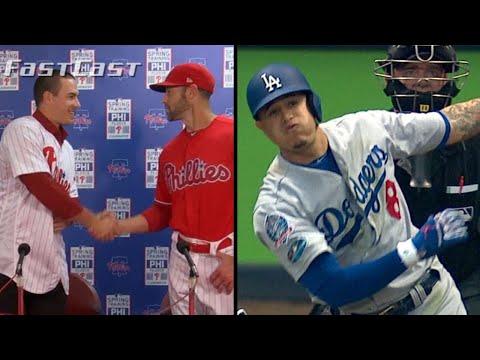 Video: MLB.com FastCast: J.T. Realmuto introduced - 2/12/19