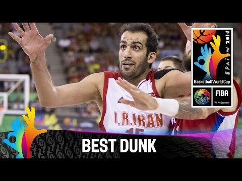 Iran - Watch the dunk of the game Iran v Serbia by Hamed Haddadi. The 2014 FIBA Basketball World Cup will take place in Spain from 30 August - 14 September and will feature the best international...