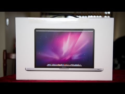 Apple Macbook pro Unboxing - That Nikon Guy (Matt Granger) introduces the 17
