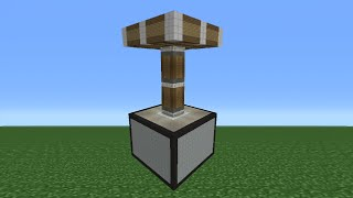 Minecraft Tutorial: How To Make A Piston