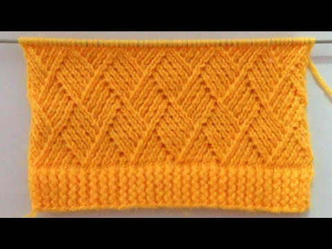 Beautiful Knitting Stitch Pattern For Gents/Ladies Sweater