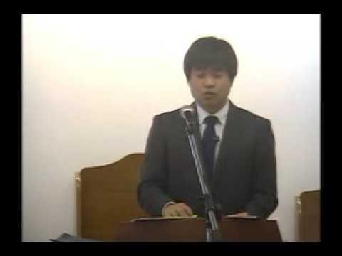 2015年11月7日「祈祷週:新天新地」朴昌牧師