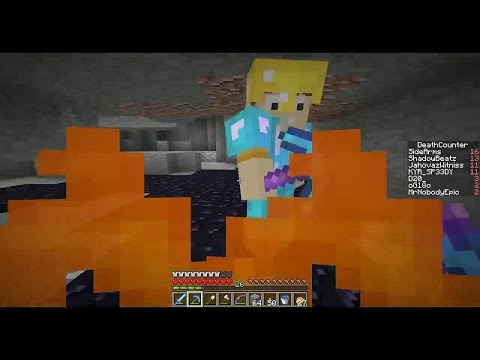 CrewCraft Livestream #6 - The Feather Falling Lava Walk Experiment! (Minecraft)
