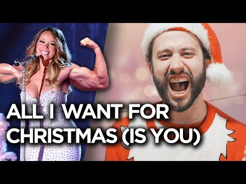 "Mariah Carey  ""All I Want For Christmas Is You"" Cover by Jonathan Young"