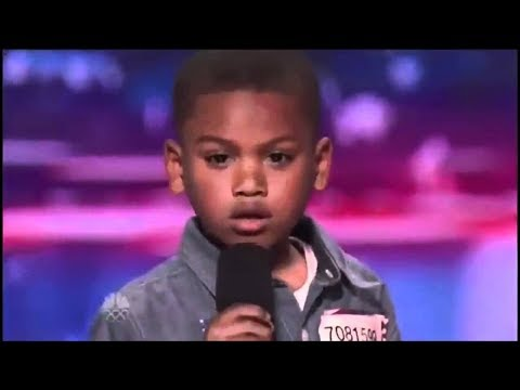 "7 Year Old Raps ""Look at Me!"" by XXXTentacion on America's Got Talent"