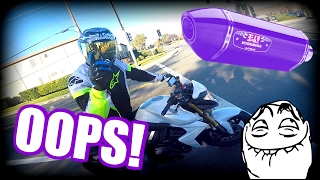 Video YOSHI EXHAUST + I STALL BMW S1000RR + DAD MEETS LILY download in MP3, 3GP, MP4, WEBM, AVI, FLV Februari 2017