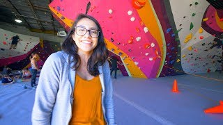 Liz Is Showing Us - First Ascent Humboldt Park by Eric Karlsson Bouldering