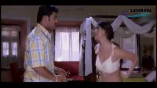 Ankitha Asking Jr.NTR To Unhook Her BRA (HOT) | Simhadri | Telugu Movie Scene