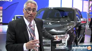 2015 Ford F-150 Engineer Walkaround Video @ Detroit Auto Show (NAIAS) 2014