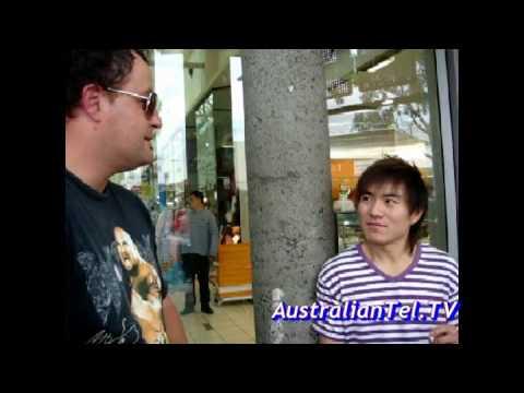 Street talk on Swine flu in Australia Bloopers