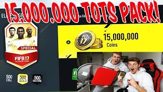 OMG! 15.000 000 COINS PACK?? ⛔️🔥 - FIFA 17 PACK OPENING ULTIMATE TEAM (DEUTSCH)►► FIFA 17 COINS fürs TOTS (100% SICHER & in 2 MIN) : https://goo.gl/Qbg4Y1 (+ 8% Rabatt : FIFAGAMING) ►► FIFA 17 Accounts mit FIFA COINS : https://goo.gl/Qbg4Y1► MEIN SHOP : https://www.shirt-tube.de/youtuber/fifagaming/►► MEINE SPONSOREN :✖️ FIFA COINS,FIFA POINTS,XBOX/PSN Cards bei IGVUALT : https://goo.gl/Qbg4Y1✖️ FIFA COINS,FIFA POINTS, GAMEKEYS, XBOX/PSN Cards bei MMOGA : http://mmo.ga/u2TN►► Meinen BRUDER (Claas) ABONNIEREN : https://goo.gl/rT2mda►► FOLGT MIR HIER (um nix zu verpassen) :✘✘✘ MEINEN 2. KANAL ABONNIEREN!! : https://goo.gl/fNQ4I8 ✘ INSTAGRAM : https://goo.gl/tFHdQr✘ Twitch Livestreams : https://goo.gl/EBkWa6✘ Facebook: http://on.fb.me/1R9BJom★ BUSINESS EMAIL : tiradorlp@googlemail.com✘ Mein Designer : https://goo.gl/O1OJg9●▬▬▬▬▬▬▬▬▬▬▬▬▬▬▬▬▬▬●Falls ihr mich unterstützen wollt, kauft BITTE über MEINE LINKS in der Videobeschreibung.Es kostet euch keinen Cent mehr & ihr unterstützt MICH!! DANKE