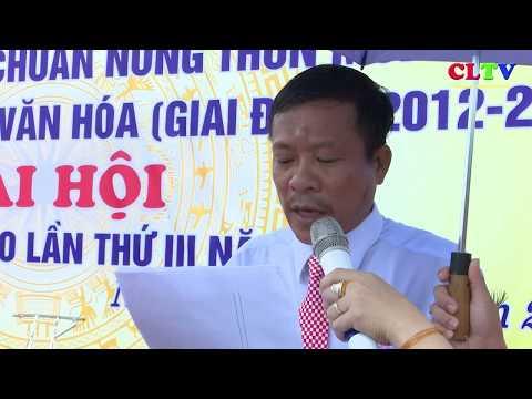 Xã Cam Thành đón nhận xã đạt chuẩn NTM