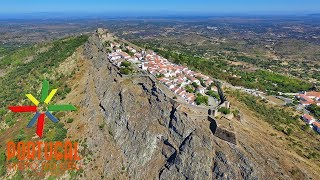Marvao Portugal  City new picture : Marvão aerial view - Marvão vista aérea - 4K Ultra HD