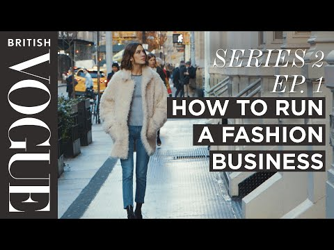 How to Run a Fashion Business with Alexa Chung | S2, E1 | Future of Fashion | British Vogue