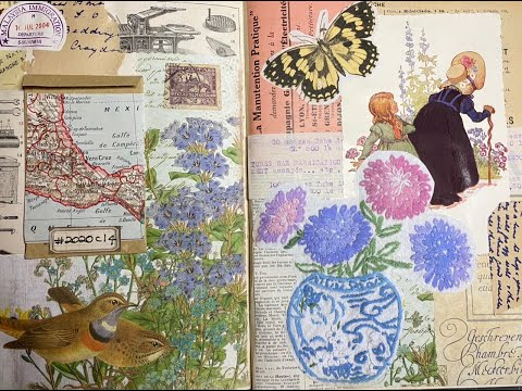 Craft with me | 5 prompt weekly collage challenge #2020c14 | Margarete Miller