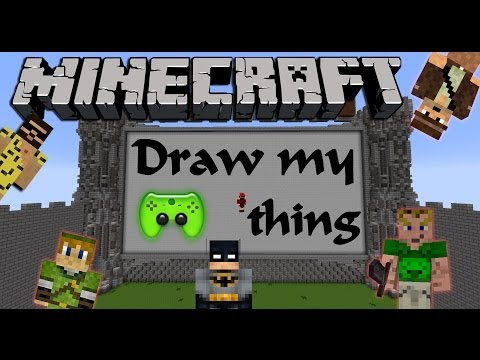 MINECRAFT DRAW MY THING # 2 - Sag was du zeichnest «» Let's Play Minecraft | HD