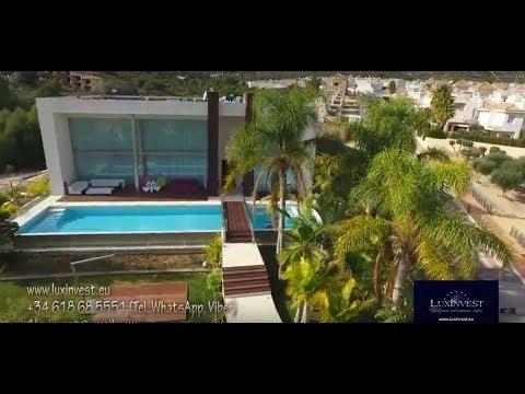 Элитная вилла в стиле хай-тек на Коста Бланка, в Ла Нусия, Бенидорм. Эксклюзивный дом в Испании!