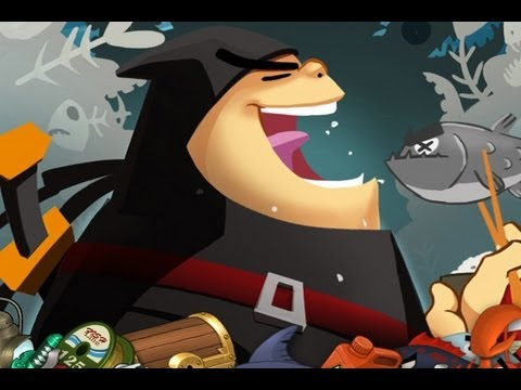 iphone video game - Ninja Fishing review. Classic Game Room presents a CGRundertow review of Ninja Fishing for iPhone! Developed by Gamenauts, Ninja Fishing is a fishing game wi...
