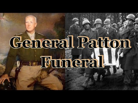 General George S. Patton Jr. Funeral 1945