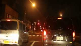 Tokyo Midnight Run 1.Drive in Tokyo Timelapse.Canon EOS D60