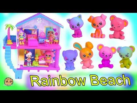 Rainbow Beach House ! Happy Places Shopkins Shoppies Summer Home