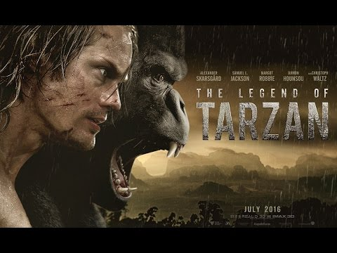 The Legend of Tarzan Official Trailer