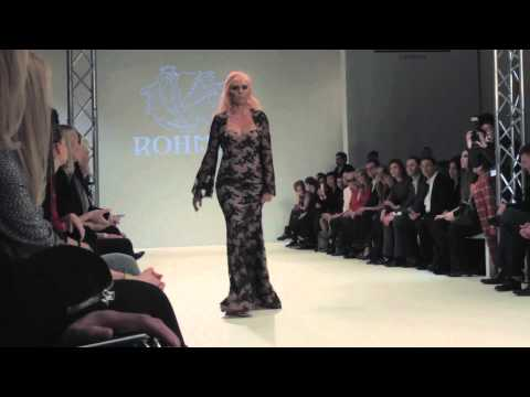 ROHMIR FW13/14 Catwalk Show & Backstage Video by Adrian Ruiz Rae 25th February 2013