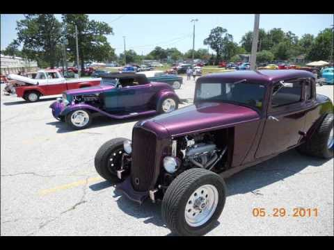 streetrods and hotrods NSRA car show in Springfield, Missouri 2011 photos #1