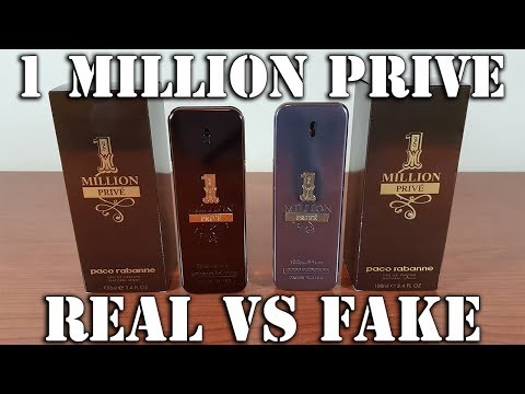 Fake fragrance - 1 Million Prive by Paco Rabanne
