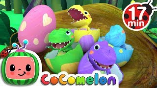 Dinosaur Songs | CoCoMelon Nursery Rhymes & Kids Songs