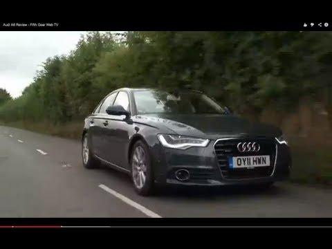 Audi A6 Review – Fifth Gear Web TV