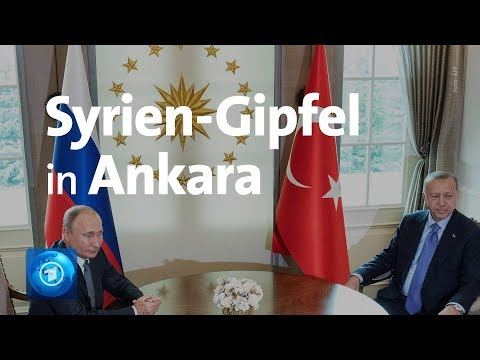 Türkei/Russland/Iran: Gipfeltreffen zum Krieg in Syri ...