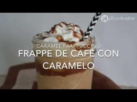 Video/Receta FRAPPÉ DE CARAMELO