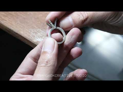 Solitaire Amethyst Ring - How it's made jewelry series