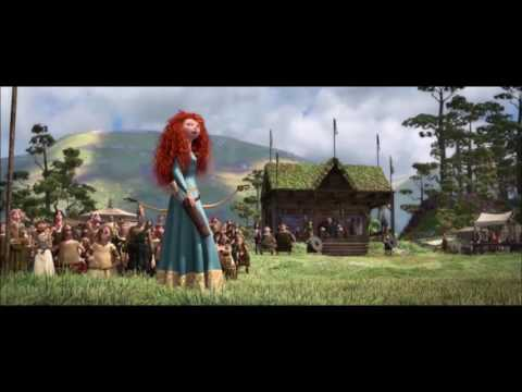 Animated Movies Scenes - Brave Movie Archery Scene