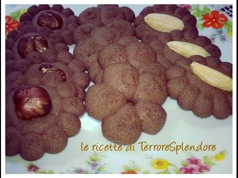 video ricetta: buonissimi biscotti di frolla montata al cacao