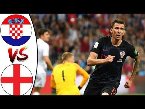 Croatia Vs England 2-1  2nd Half World Cup 2018
