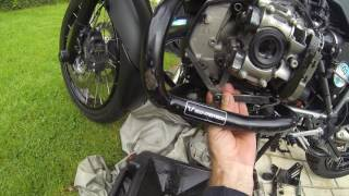 8. BMW 1200 GS triple black 2012, how to shim valve adjustment of tappets