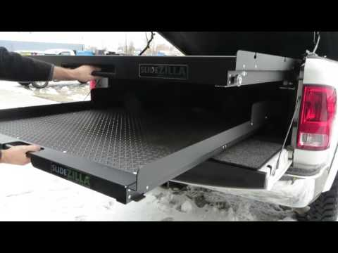 SlideZilla Upper and Lower Combination Sliding Trays