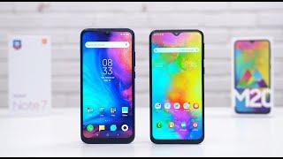 Mending Samsung Galaxy M20 ato Redmi Note 7?