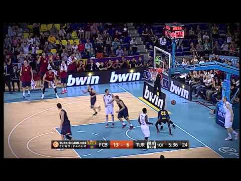 Play of the Night: Marcelinho Huertas & Deshaun Thomas, FC Barcelona