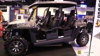 7. 2016 Massimo Militia 1000 XS Utility ATV - Walkaround - 2015 AIMEXPO Orlando