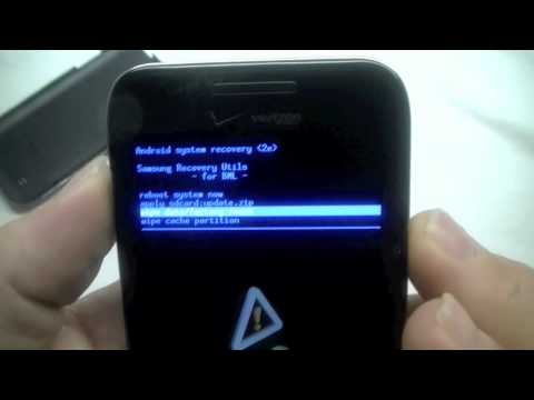 Instant Video Play Samsung Fascinate Hard Reset