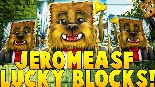 JEROMEASF YOUTUBER BLOCK MOD CHALLENGE (Minecrafter Mod) | Minecraft - YouTuber Block Mod