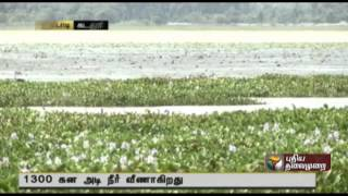 Lack of desilting activities causes decrease in capacity and storage of water at Perumal river